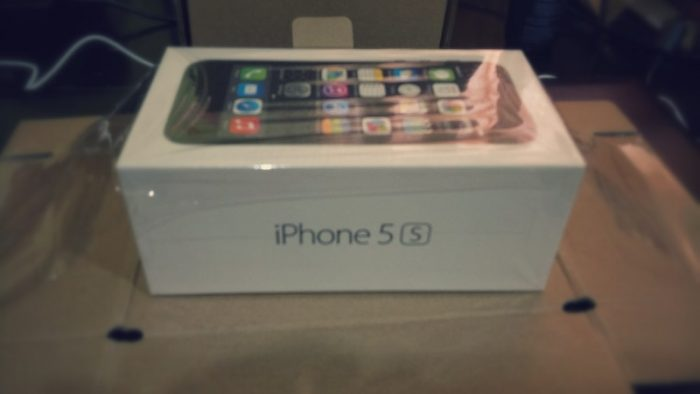 iPhone5S Box.
